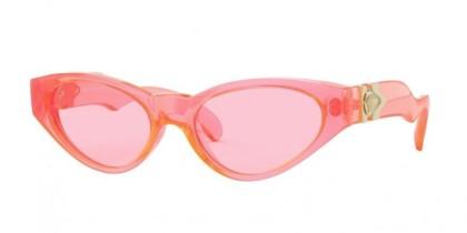 Versace 0VE4373 5310U9 Pink Fluo Transparent - Pink Fluo