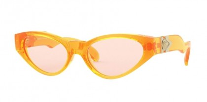 Versace 0VE4373 5311U8 Orange Fluo Transparent - Orange Fluo