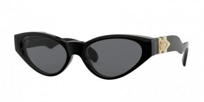 Versace 0VE4373 GB1/87 Black - Smoke