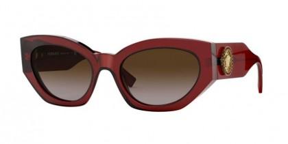 Versace 0VE4376B 388/13 Burgundy - Brown Gradient
