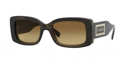 Versace 0VE4377 200/13 Transparent Green - Brown Gradient