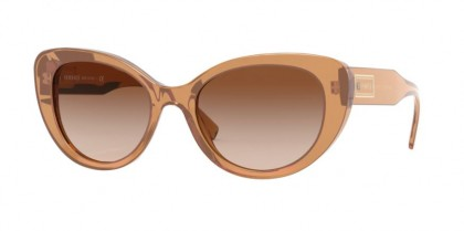 Versace 0VE4378 532613 Transparent Brown - Brown Gradient