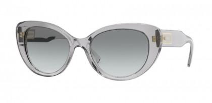 Versace 0VE4378 593/11 Transparent Grey - Grey Gradient