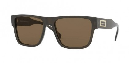 Versace 0VE4379 200/73 Transparent Green - Brown