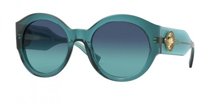 Versace 0VE4380B 53164S Turquoise - Azure Gradient Dark Blue