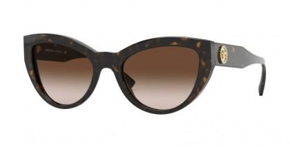 Versace 0VE4381B 108/13 Havana - Brown Gradient