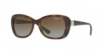 Vogue 0VO2943SB W656T5 Dark Havana - Brown Gradient Polarized