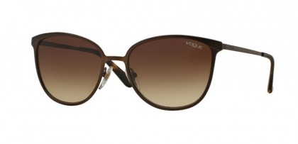 Vogue 0VO4002S 934S13 Matte Brown Burnt - Brown Gradient
