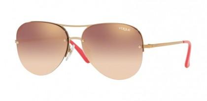 Vogue 0VO4080S 50756F Light Pink Gold - Gradient Pink Mirror Pink