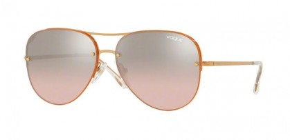 Vogue 0VO4080S 50757E Rose Gold - Light Pink Mirror Grad Silver