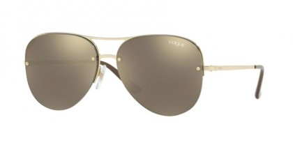 Vogue 0VO4080S 848/5A Pale Gold - Light Brown Mirror Gold
