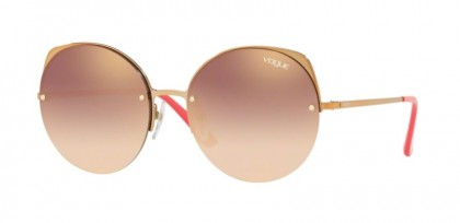 Vogue 0VO4081S 50756F Light Pink Gold - Gradient Pink Mirror Pink