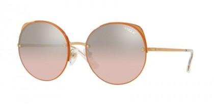 Vogue 0VO4081S 50757E Rose Gold - Light Pink Mirror Grad Silver