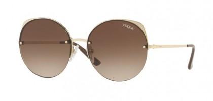 Vogue 0VO4081S 848/13 Pale Gold - Brown Gradient