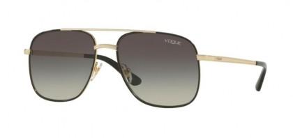 Vogue 0VO4083S 848/11 Pale Gold Black - Grey Gradient