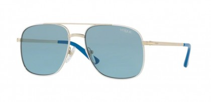 Vogue 0VO4083S 848/80 Pale Gold White - Blue