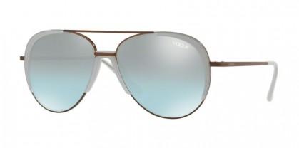 Vogue 0VO4097S 50747C Copper - Azure Gradient Mirror Black