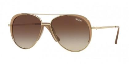 Vogue 0VO4097S 848/13 Pale Gold - Brown Gradient
