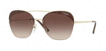 Vogue 0VO4104S 848/13 Pale Gold - Brown Gradient