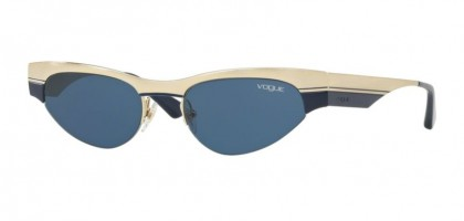 Vogue 0VO4105S 848/80 Brushed Pale Gold Blue - Blue