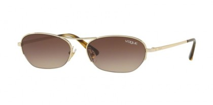 Vogue 0VO4107S 848/13 Pale Gold - Brown Gradient