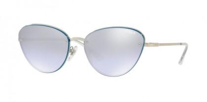 Vogue 0VO4111S 323/7A Silver - Violet Mirror Grad Silver 80