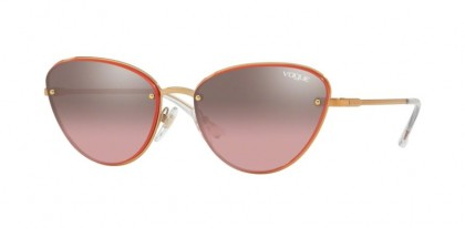 Vogue 0VO4111S 50757A Rose Gold - Pink Mirror Silver Gradient