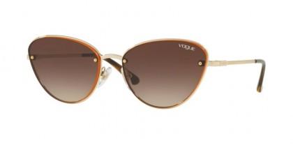 Vogue 0VO4111S 848/13 Pale Gold - Brown Gradient