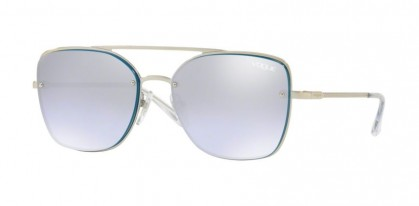 Vogue 0VO4112S 323/7A Silver - Violet Mirror Grad Silver 80