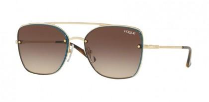 Vogue 0VO4112S 848/13 Pale Gold - Brown Gradient