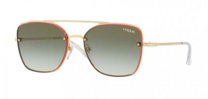 Vogue 0VO4112S 848/8E Pale Gold - Green Gradient