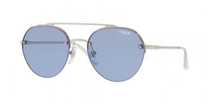 Vogue 0VO4113S 323/76 Silver - Dark Violet