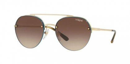 Vogue 0VO4113S 848/13 Pale Gold - Brown Gradient