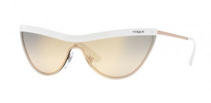 Vogue 0VO4148S 5074AE White/Copper - Yellow/Grey/Grey Mirror Gold