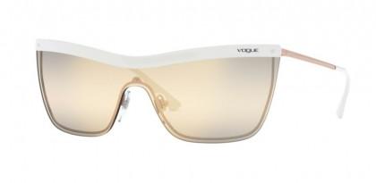 Vogue 0VO4149S 5074AE White/Copper - Yellow/Grey/Grey Mirror Gold