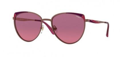 Vogue 0VO4151S 507420 Copper/Matte Bordeaux Red - Pink Gradient Violet