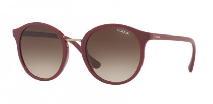 Vogue 0VO5166S 2566/13 Dark Red - Brown Gradient