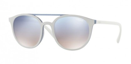 Vogue 0VO5195S 2594/7B Top Beige Azure Glitter - Gradient Light Blue Mirror Silver