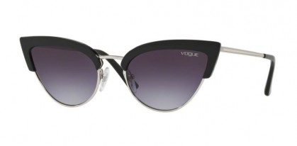 Vogue 0VO5212S W44/36 Black Silver - Pink Gradient Light Violet