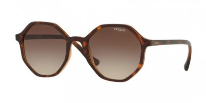 Vogue 0VO5222S 238613 Dark Havana/Light Brown Transparent - Brown Gradient