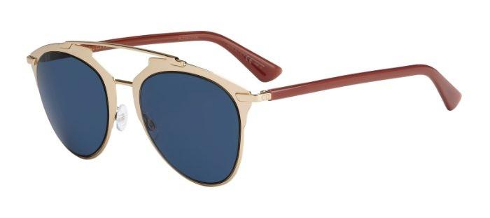 130cc6098 Christian Dior DIORREFLECTED TUZ (KU) Rose Gold Light Brown - Blue Avio