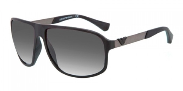 e2fff13579ef Emporio Armani ESSENTIAL LEASURE 0EA4029 50638G Black Rubber - Grey Gradient