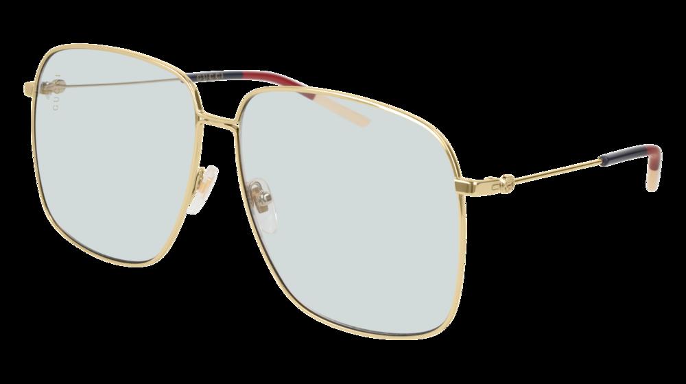 9b88fda07 Gucci GG0394S-006 Gold - Light Blue Shiny   Sunglasses Smartottica