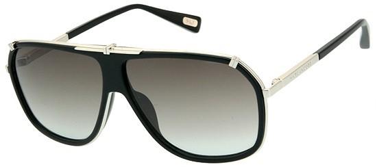 435b7c8c0e7f Marc Jacobs MJ 305/S 010/5M - Black Palladium / Grey Aqua Shaded ...
