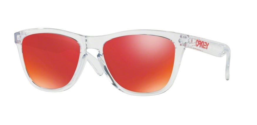 Oakley Frogskins Polished Clear / Torch Iridium zoCNA