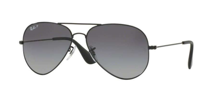 Ray Ban 0RB3558 002 T3 Black - Grey Gradient Polarized  8862146935
