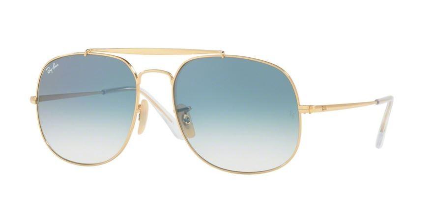 5da06245e Ray Ban 0RB3561 001/3F Gold - Blue Gradient | Sunglasses Smartottica