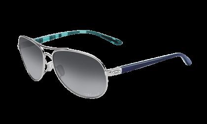 ad4b10657f Oakley Polarized Feedback 4079-07 - Polished Chrome   Gray Gradient  Polarized