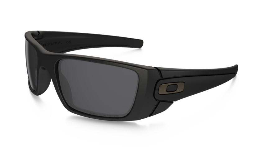 d65c788497 Oakley Polarized Fuel Cell 9096-05 Matte Black   Gray Polarized