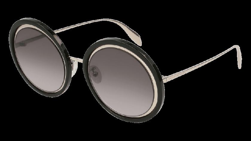 493456e8024d Alexander McQueen AM0150S-002 Silver - Black Grey